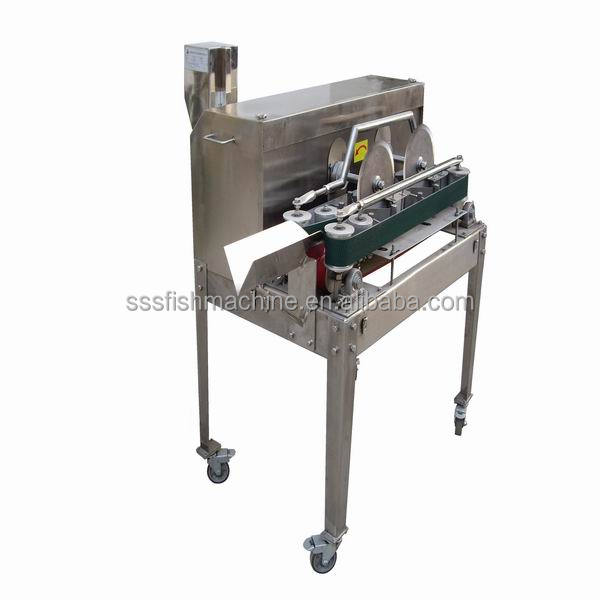 Industrial fish cutting machine for fish fillet