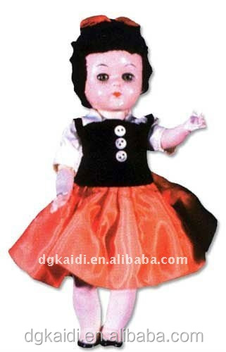 Fashionable cute promotional gift vinyl girl doll