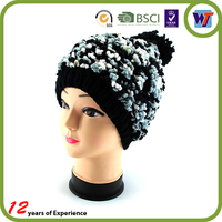 2015 new fashion cap designer cute beauty knitted hat top ball crocheted hat