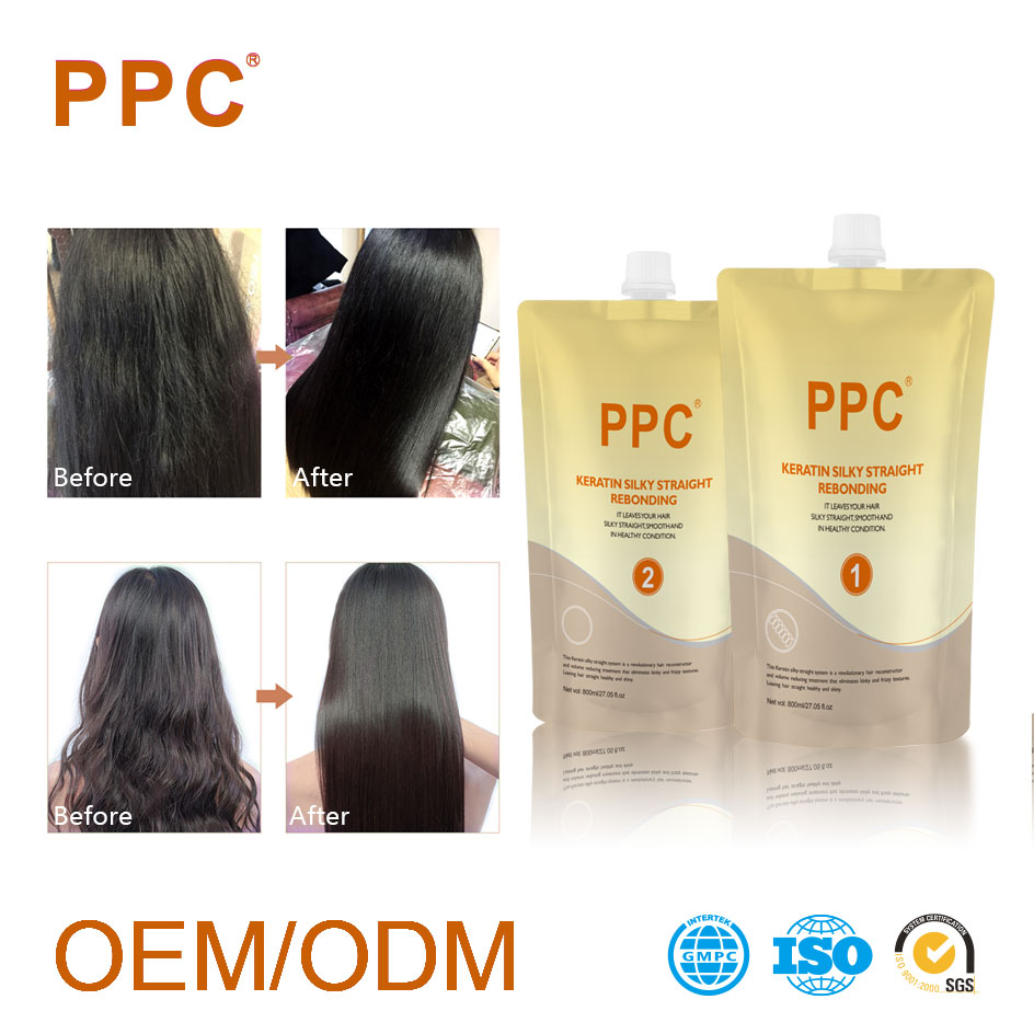 Keratin Permanent Bangladesh Brazilian Organic Milk Protein Hair