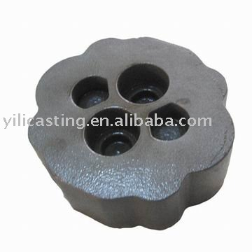 reducer back cover gray iron casting sand casting iron foundry