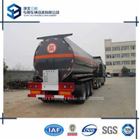 Tri Axle Chemical Tank Trailer 32000