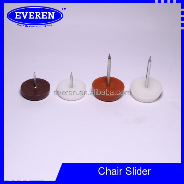 Adjustable teflon furniture glides