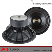 Trade Assurance High Performance Good Voice with Power15inch 1000w rms subwoofer