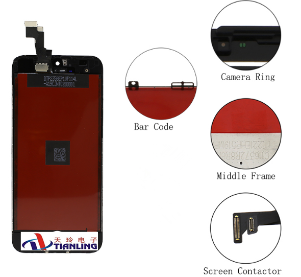 lcd Original Replacement screen display, AAA Quality LCD Touch Screen lcd for iphone 5s
