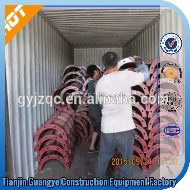Tianjin GuangYe concrete pillar/concrete column moulds/flexible formwork