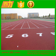 Polyurethane rubber running track Athletic track material Synthetic sport flooring surface