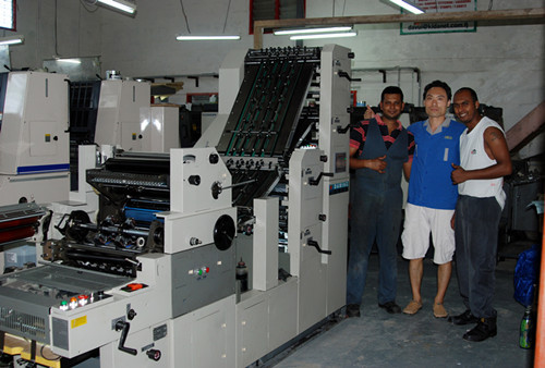 DM QZ1150 economical automatic paper cutting machine for sale with direct factory price.
