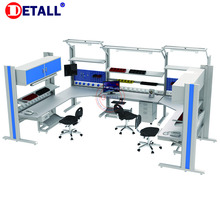Detall- Industrial Metal Designs Electronic Esd Lab Workbench With Steel