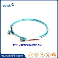 1M LC- LC Pull Type OM3 Multimode 50 125 High Density Fiber Optic Cable Price List