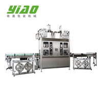 FTB Automatic pvc film shrink sleeve wrap round labeling machine for glass and PET Bottle packing