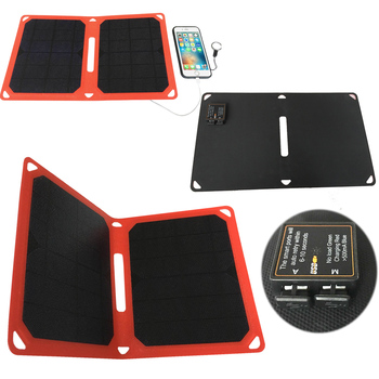 Solar Charging Bag dual usb solar charger 10w