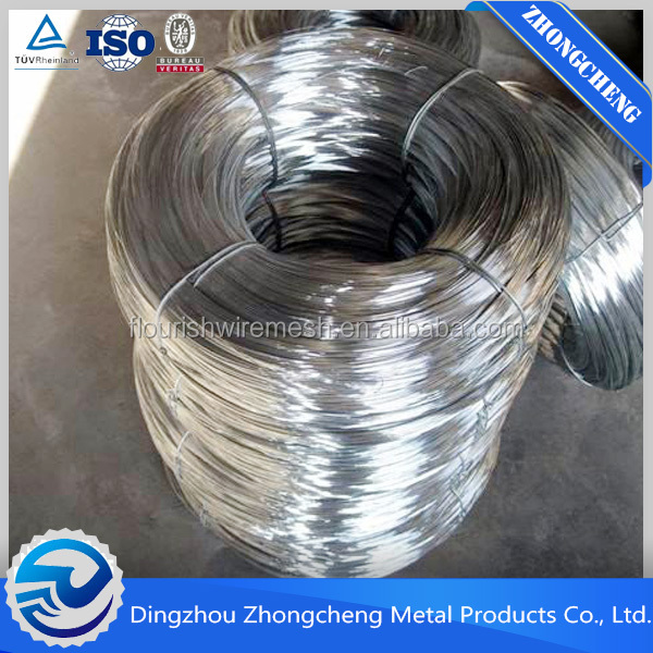 low price electro galvanized iron wire/copper coated iron wire