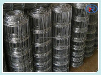 China Hot Sale Galvanized Woven Cattle Fence, Farm Iron Fences, Grassland Cattle Fence