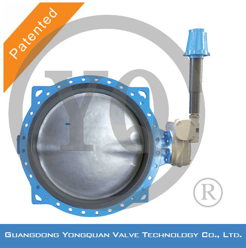 "Worm Gear Operated Concentric Rubber Lined Underground Butterfly Water Valve, DN 1.5""-120"", PN 1.0/1.6/2.5 MPa,"