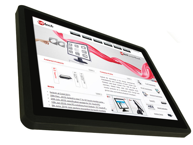 "15"" inch customized capacitive touch screen monitor"
