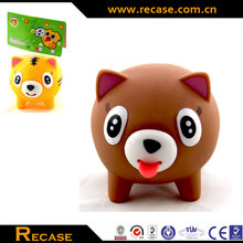 Soft PVC Custom Funny Anti-stress Animal Squeeze Screaming Toys