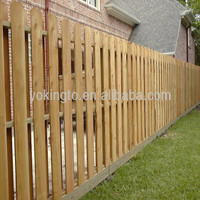 cheap price wooden stake fence