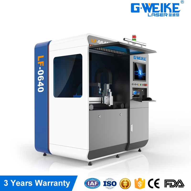 high precision 500w LF0640 fiber laser cutting machine high power and high performance from <strong>G</strong>.weike