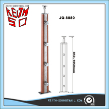 JQ-8080 Wood Post for Glass Railing