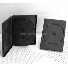 22mm black 6 discs dvd case /22mm dvd box for 6 discs