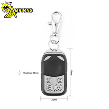 Universal Cloning Electric Gate Garage Door Remote Control Key Fob 433mhz Cloner AG070