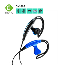 Made in china blue hands free bluetooth earphone with mic