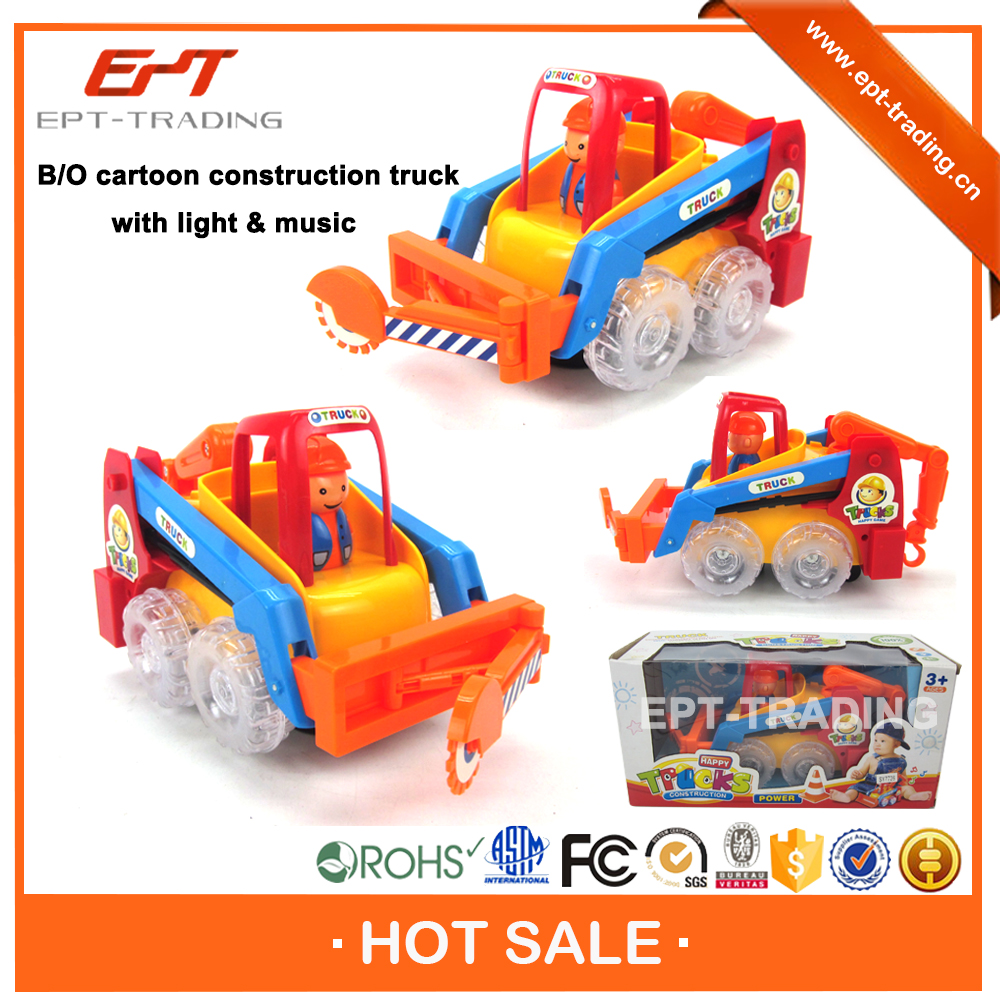 Brand new kids cheap plastic bump and go toy truck for sale