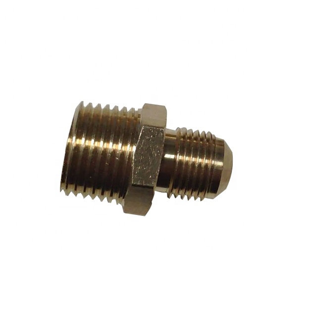 High quality flare male thread brass gas <strong>fitting</strong>