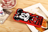 Graffiti Cartoon 3D Mickey Mouse Soft Silicone Case For iPhone 4 4S 5 5S 6 6Plus