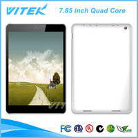 7.85 inch New Product Bluetooth 1G DDR3+16G Flash Quad Core Tablet