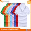 100% Cotton Short Sleeve Cheap Polo Shirt For Uniform Purpose