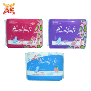 anion cotton sanitary pads sanitary napkins lady napkin