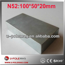 China Manufacturer Large Block N52 Neodymium Magnet for Sale