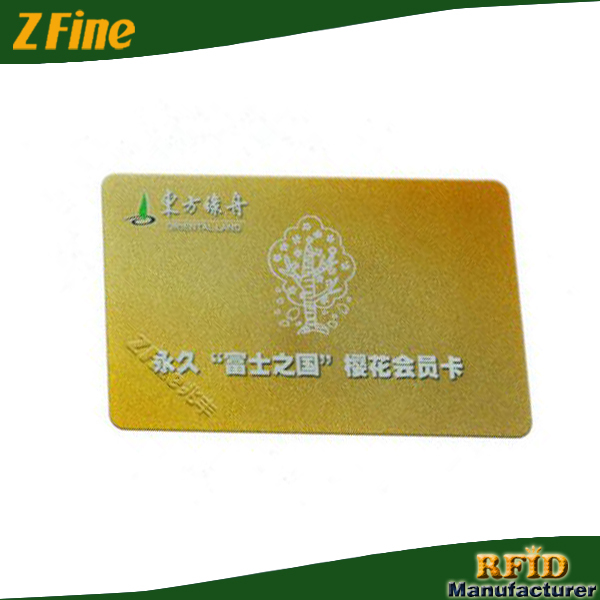 Loyalty Card System/PVC Reward Card/13.56Mhz RFID Card