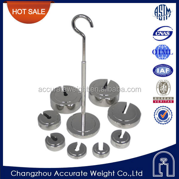 OIML,F1,F2,M1,copper slotted weights, scale calibration weight,slotted lb weights sets