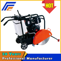 Q450 manual push road cutting machine for concrete floor