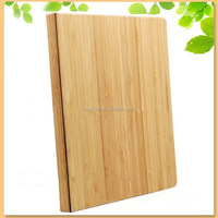 alibaba China supplier stylish bamboo folio flip case for ipad mini 3, double side used magnetic smart cover case for ipad mini