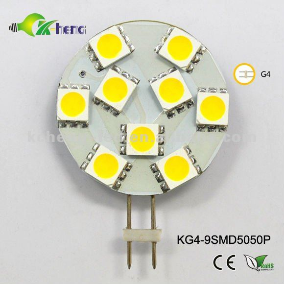 10-30V LED Light/LAMP G4 9SMD 1.5W