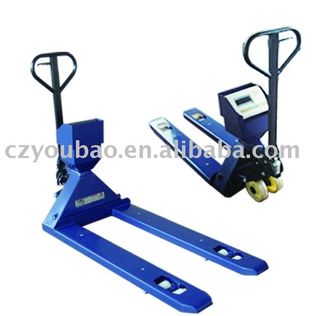High quality hydraulic lifting pallet scale