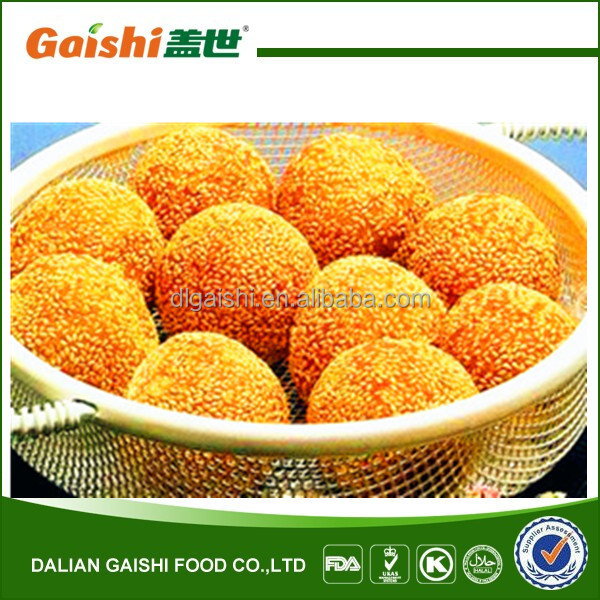 hot sale delicious frozen fried sesame ball