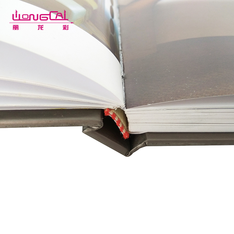 Custom size well designed high-end cheap pantone color hardcover catalogue printing