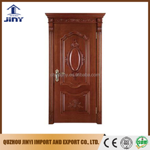 solid wood door jamb painting wooden door with crown