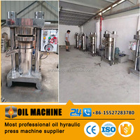 Durable quality refined oil hydraulic extracting machine for soybean
