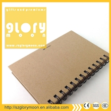 Professional Production ROHS spiral fabric covered notebook
