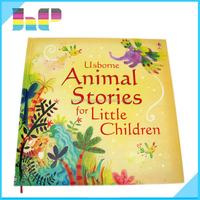 Printing Kids and Children Hard Cover Design Board English Speaking Book
