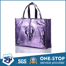 Convenient for carrying harmless eco friendly fold up sample shopping bags