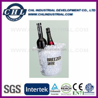 Wholesale acrylic beer bucket with SGS certification