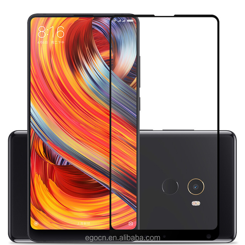 Full Cover Tempered Glass 9H Screen Protector For Xiaomi Mi Mix2 Mix 2 Film For MiMix2 Mimix Evo / 2 Smartphone 5.99 '' Cover