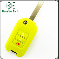 Personal decoration fashion silicone car key cover protective for honda/buick/nissian/vw/ford/bmw